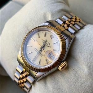 Rolex gold bezel